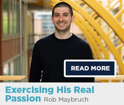 UConn Online Graduate Certificate in Exercise Prescription, Rob Maybruch